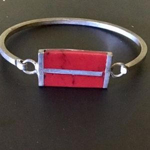 Jewelry - Red Bar Bracelet